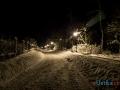 Ustka zimą - zdjęcia nocne