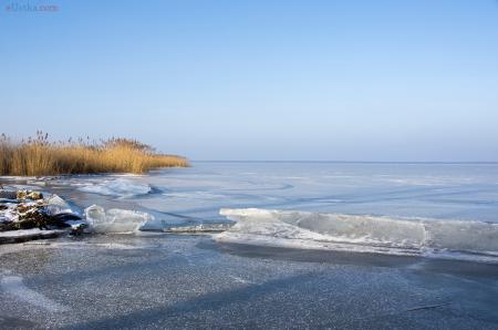Jezioro Gardno - lodowisko - 1