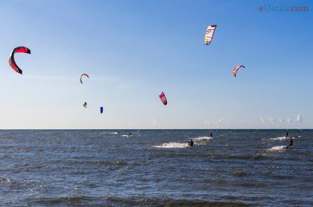 Ustka - Kitesurfing