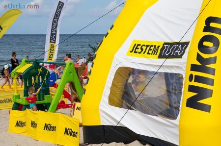 Nikon na wakacjach w Ustce 2013