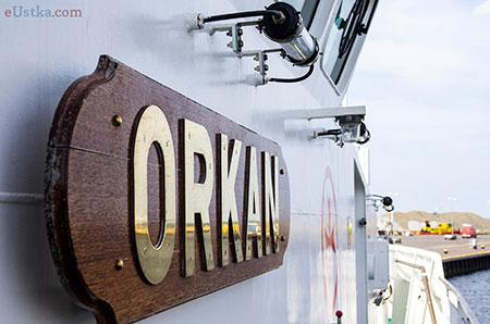 Statek ratowniczy Orkan 11