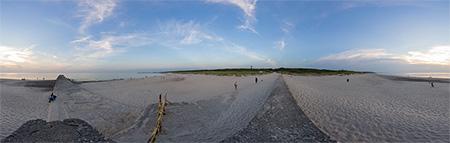 3 molo widok na plażę Ustka