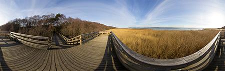 Jezioro Gardno - punkt widokowy