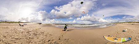 Kitesurfing w Ustce